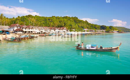 Thailand - Phi Phi Island, Phang Nga Bay - Stock Photo