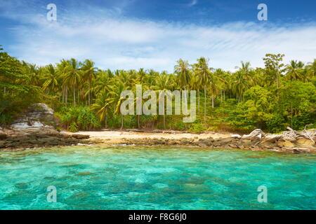 Thailand - small island at Phang Nga Bay - Stock Photo