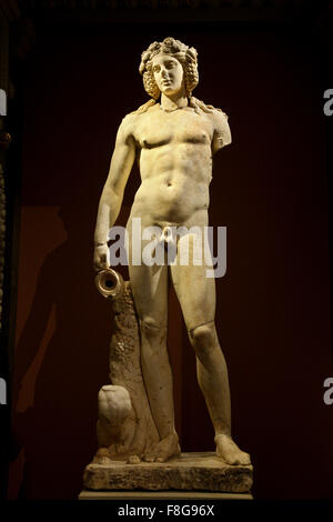 Statue of Dionysus - Bacchus in the Kunsthistorisches Museum ('Art History Museum') in Vienna, Austria. - Stock Photo