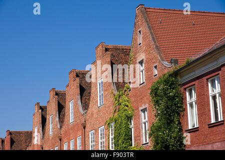 The dutch quarter in Potsdam near Berlin, Germany - Stock Photo