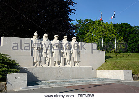Verdun and the memorial of the war of 1914-1918 - Stock Photo