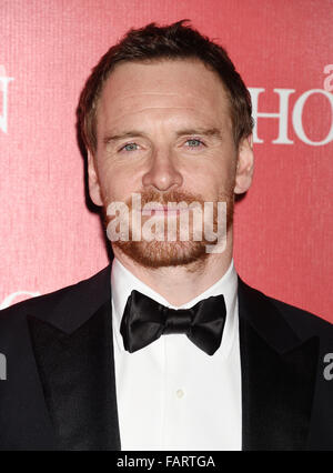 MICHAEL FASSBENDER US film actor in January 2016. Photo Jeffrey Mayer - Stock Photo