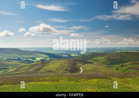 Cairn O' Mount - the high road from Fettercairn to Banchory, Aberdeenshire, Scotland. - Stock Photo