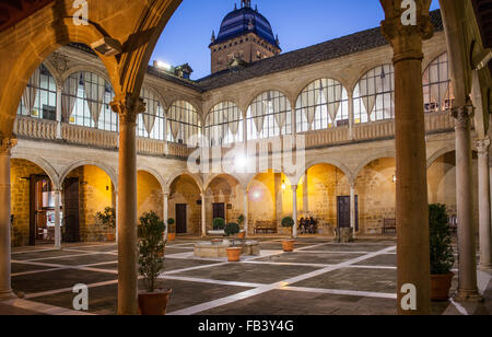 Hospital de Santiago built in the 16th century, Úbeda, Jaén province, Andalusia, Spain, Europe - Stock Photo
