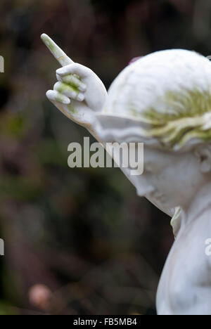 Angels Figure on old Cemetery in Bonn, northrhine-westphalia, germany, europe - Stock Photo