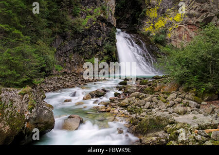 Reinfall - waterfall Reinfall 01 - Stock Photo
