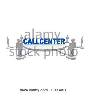 callcenter - Stock Photo