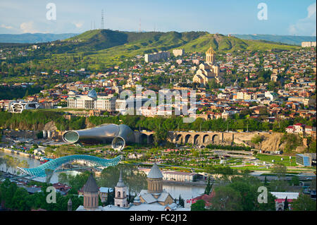 Tbilisi panorama - Stock Photo