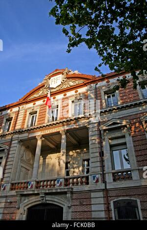 Building of the Prefecture, Perpignan, France - Stock Photo