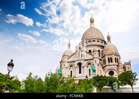 Cupolas of the  Sacred Heart, Paris, France - Stock Photo