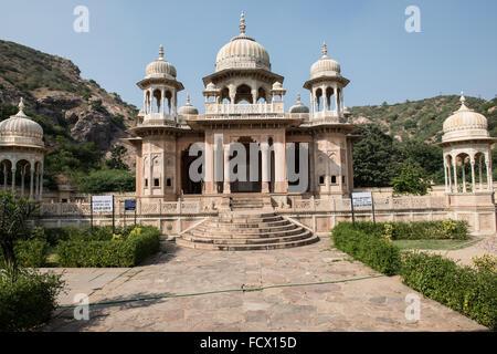 Royal Crematorium in Jaipur - Stock Photo