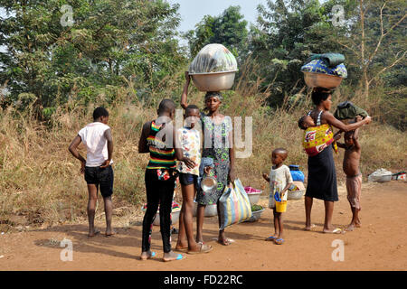 Togo, Nayamassilla village - Stock Photo