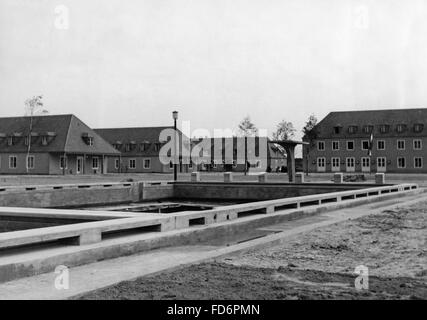 Automobile industry: VW plant under construction - the Braunschweig plant, 1939 - Stock Photo