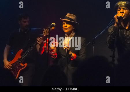 Berlin, Germany, concert by the band The Selecter Club Gretchen Berlin-Kreuzberg - Stock Photo