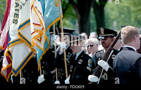 Washington,DC., USA, 5th May, 1995 President WiIliam Clinton attends the annual Police Memorial on Capitol Hill. - Stock Photo
