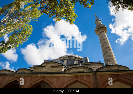 The Hadim Ibrahim Pasha Mosque, Hadim Ibrahim Pasa Camii, is a 16th-century Ottoman mosque located in the Silivrikapi - Stock Photo