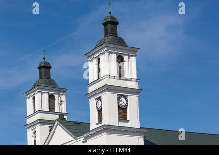 Church of St. Alexander in Suwalki. Poland - Stock Photo