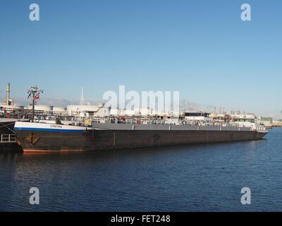 Cynthia (ship, 1993) ENI 07001733 Port of Rotterdam pic1 - Stock Photo