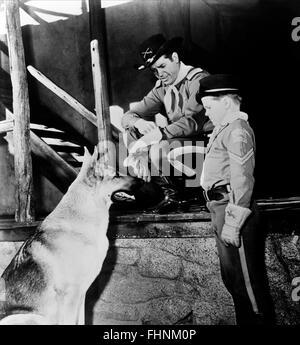 RIN TIN TIN, JAMES BROWN, LEE AAKER, THE ADVENTURES OF RIN TIN TIN, 1954 - Stock Photo