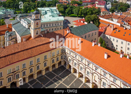 geography / travel, Lithuania, Vilnius, view from the Church of St. John onto the university, Sarkos Court, Additional - Stock Photo