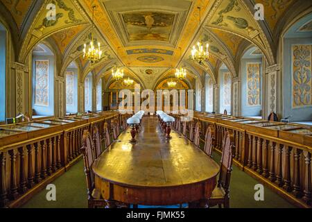 geography / travel, Lithuania, Vilnius, university library, Additional-Rights-Clearance-Info-Not-Available - Stock Photo
