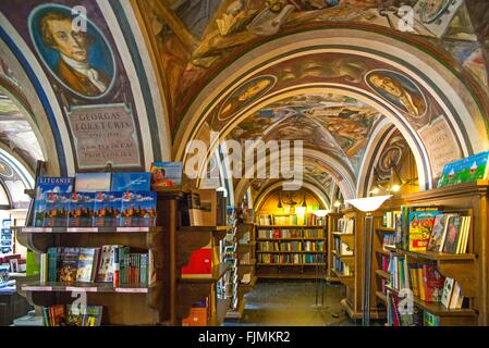 geography / travel, Lithuania, Vilnius, university bookshop, Additional-Rights-Clearance-Info-Not-Available - Stock Photo