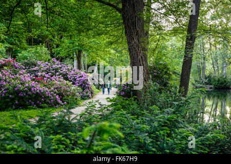 Tiergarten park, Berlin, Germany, Europe - Stock Photo