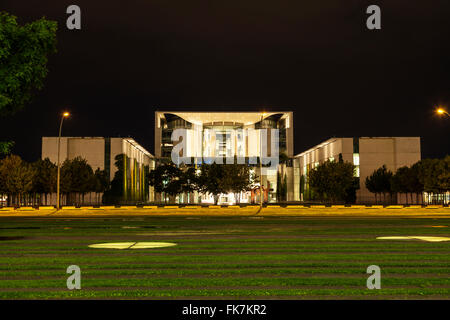 Federal  Chancellery of Germany in Berlin - Stock Photo