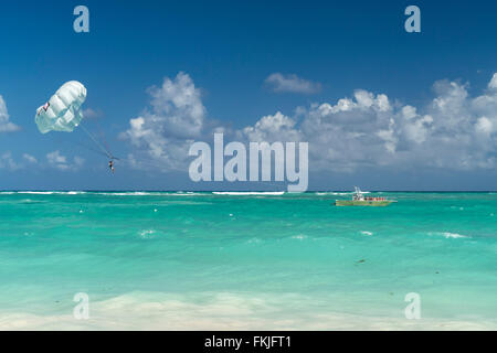 Bavaro, Punta Cana,  Dominican Republic, Carribean, America, - Stock Photo