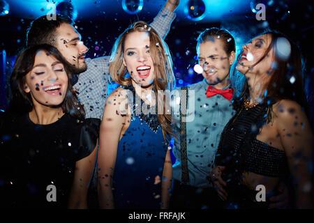 Ecstatic dancer - Stock Photo