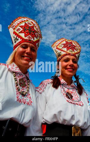 Song and dance festival, Tallinn, Estonia, Baltic States - Stock Photo