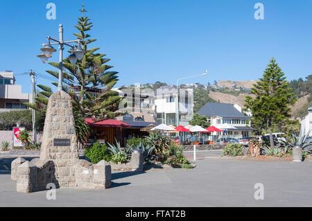 Foreshore at Sumner Beach, Esplanade, Sumner, Christchurch, Canterbury Region, South Island, New Zealand - Stock Photo