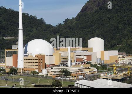 Nuclear power plant Angra dos Reis - Stock Photo