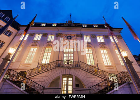 Bonn Rathaus. Bonn, North Rhine-Westphalia, Germany - Stock Photo