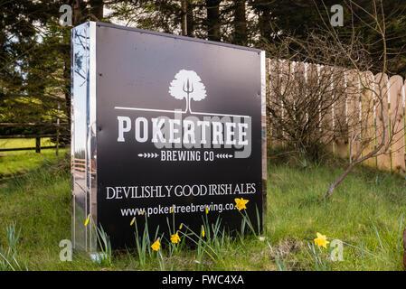 Pokertree Brewing Company, Carrickmore, County Tyrone, Northern Ireland. - Stock Photo