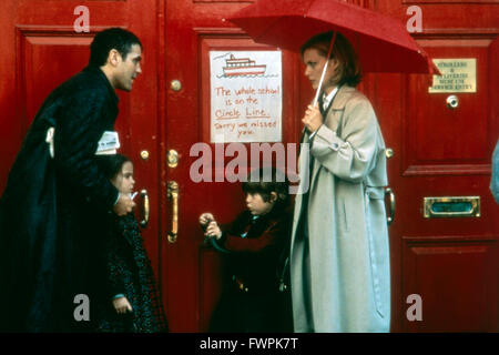 One Fine Day, aka: Tage wie dieser..., USA 1996, Regie: Michael Hoffman, Darsteller: Mae Whitman, George Clooney, - Stock Photo