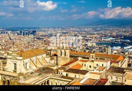 View of the Certosa di San Martino in Naples - Stock Photo