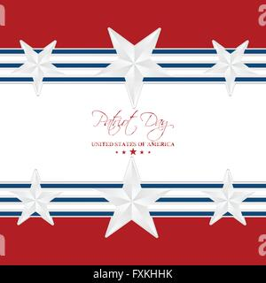 Patriot Day Abstract - Stock Photo