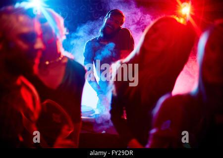 Cool disco - Stock Photo