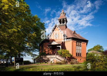 The Seney-Stovall Chapel on the campus of University of Georgia, Athens, Georgia, USA - Stock Photo