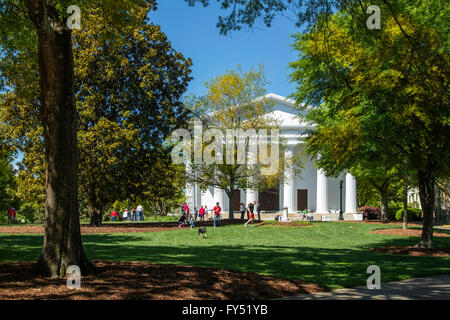 The UGA Chapel on University of Georgia Campus, Athens, Georgia, USA - Stock Photo