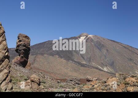 Teide Mountain - Stock Photo