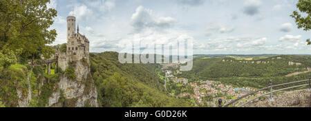 Castle Lichtenstein - Stock Photo