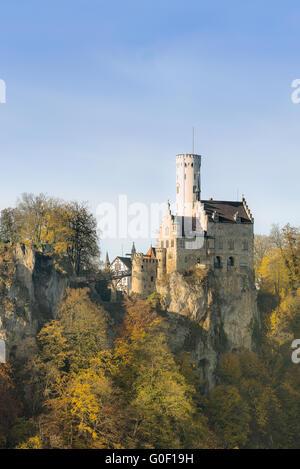 Castle Lichtenstein | Germany - Stock Photo