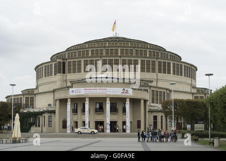 Centennial Hall - Stock Photo