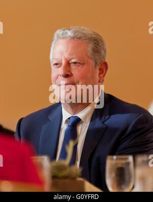 Washington, DC USA. 5th May, 2016:Climate Action 2016 Summit brings global leaders to Washington, DC.  UN Secretary - Stock Photo