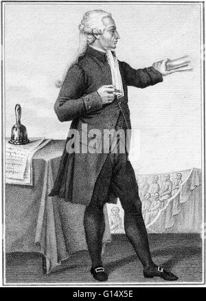 Jean-Sylvain Bailly (September 15, 1736 - November 12, 1793) was a French astronomer, mathematician, and political - Stock Photo