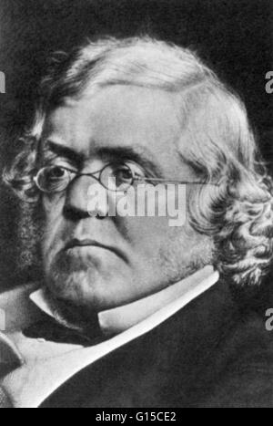 William Makepeace Thackeray (July 18, 1811 - December 24, 1863) was an English novelist of the 19th century. He - Stock Photo