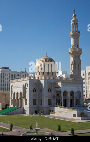 Zawawi Mosque, Muscat, Oman, Middle East - Stock Photo