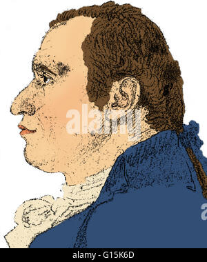 Gaspard Monge, Comte de Péluse (May 9, 1746 - July 28, 1818) was a French mathematician and the inventor of descriptive - Stock Photo